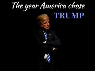 The year America chose Trump