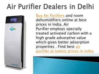 Air Purifier Dealers in Delhi
