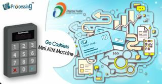 Go Cashless - Mini ATM Machine