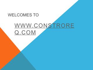 constroreq | buy construction material in pune