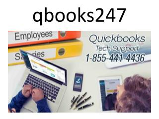 qbooks247- An accounting software for small and medium business enterprise