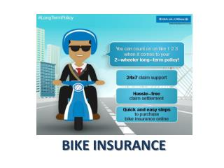 Advantages of third party bike insurance