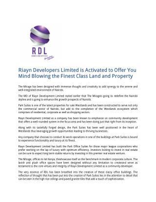 Luxury Property for Sale in Westlands Kenya