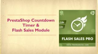 Flash Sales Deal of the Day PrestaShop Module