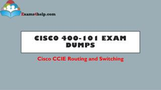 Cisco 400-101 Real Exam Questions