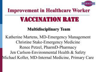 Katherine Martens, MD-Emergency Management Christine Stake-Emergency Medicine Renee Petzel, PharmD-Pharmacy Jen Carlson-