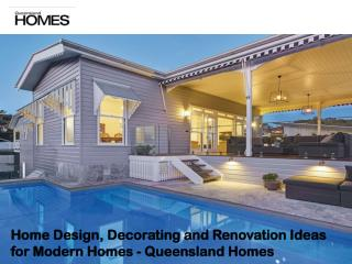 Home Design, Decorating and Renovation Ideas for Modern Homes - Queensland Homes