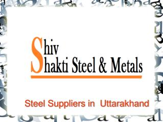 Best Steel Suppliers in Uttarakhand