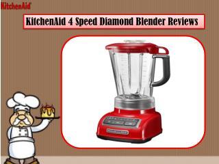 KitchenAid 4 Speed Diamond Blender Reviews