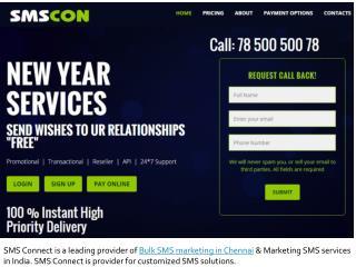 Bulk SMS services in Chennai