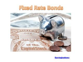 Fixed Rate Bonds