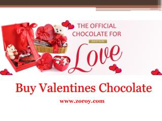 Buy Valentines Chocolate Gift for Girlfriend @ Zoroy