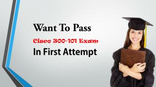 Cisco 300-101 VCE Exam Test