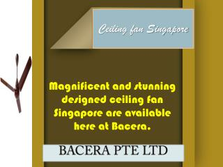 Ceiling Fan Singapore | Ceiling Fans in Singapore