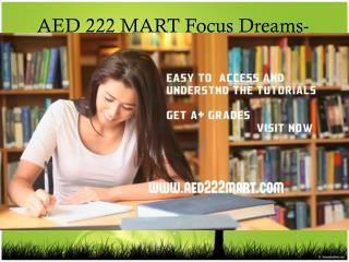 AED 222 MART Focus Dreams-aed222mart.com