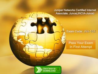 Free JN0-102 Juniperexams