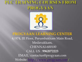 PLC Training Courses from Progyaan
