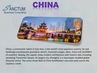 Apply for China Visa with Sanctum Business Consulting