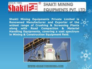 Sand Screening Machine Manufacturers