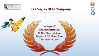 Excellent SEO Service Company in Las Vegas