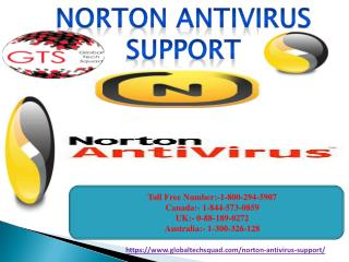 Norton Antivirus Support in USA Call Toll Free 1-800-294-5907