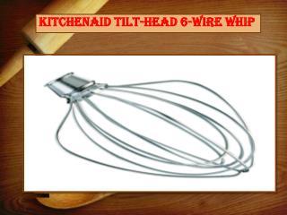 KitchenAid Tilt-Head 6-Wire Whip
