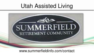 Retirement In Utah