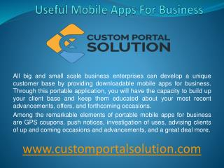 Useful mobile apps for business