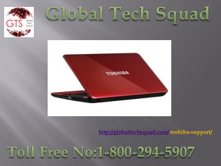 Toshiba Tech Support Call Toll Free 1 800-294-5907
