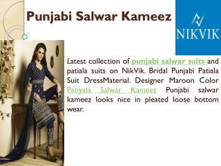 Punjabi Salwar Kameez