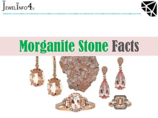 Morganite Stone Facts - Jewel Info 4U