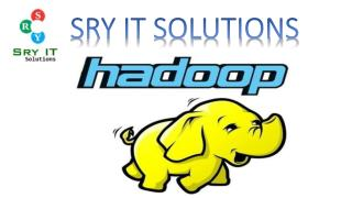 Big Data & Hadoop Developer Training Online