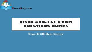 400-151 PDF Dumps