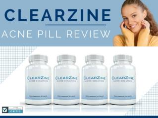 Clearzine Acne Treatment Pill Reviews and Results | Is it A Solution?
