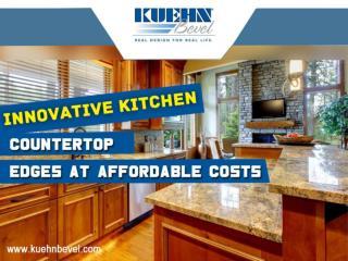 Innovative Kitchen Countertop Edge Profiles