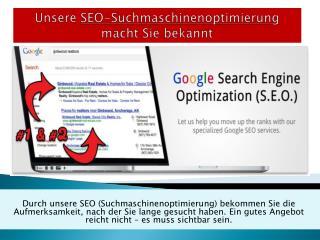 SEO Suchmaschinenoptimierung - wichtig oder notwendig?