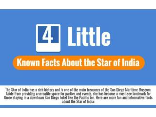 4 Little Known facts about the star of india