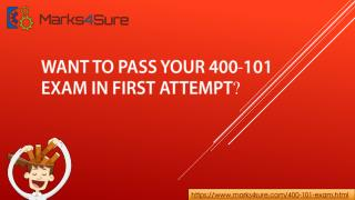 Marks4sure 400-101 Real Exam Questions