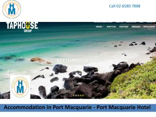 Accommodation in Port Macquarie - Port Macquarie Hotel
