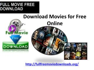Full Download Movies for Free Online
