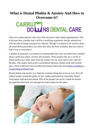 Dentist Sandhurst - Carrum Downs Dental Care
