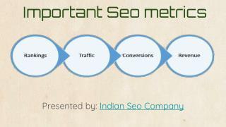 Important Seo metrics