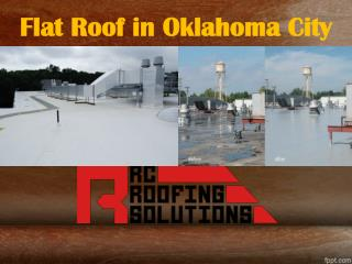 Flat Roof in Oklahoma City