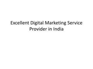 Excellent Web Development Service Provider in India