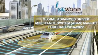 GLOBAL ADVANCED DRIVER ASSISTANCE SYSTEM (ADAS) MARKET FORECAST 2016-2022