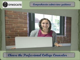 The  best College counseling change your future