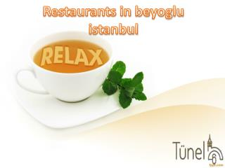 Hotels cafes restaurants Istanbul Turkey