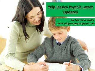 Yelp Jessica Psychic Latest Updates
