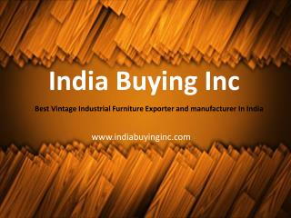 India's Best Industrial Furniture Manufacturer and Exporter