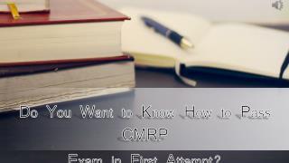 CMRP Practice Test